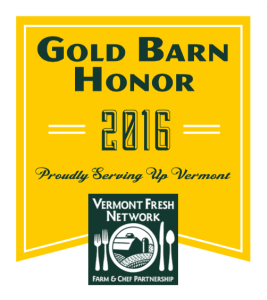 Vermont Fresh Network Gold Barn Honor 2016 | Sterling College in Vermont