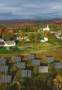 Aerial Sterling Solar Array