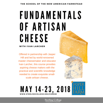 Fundamentals of Artisan Cheese