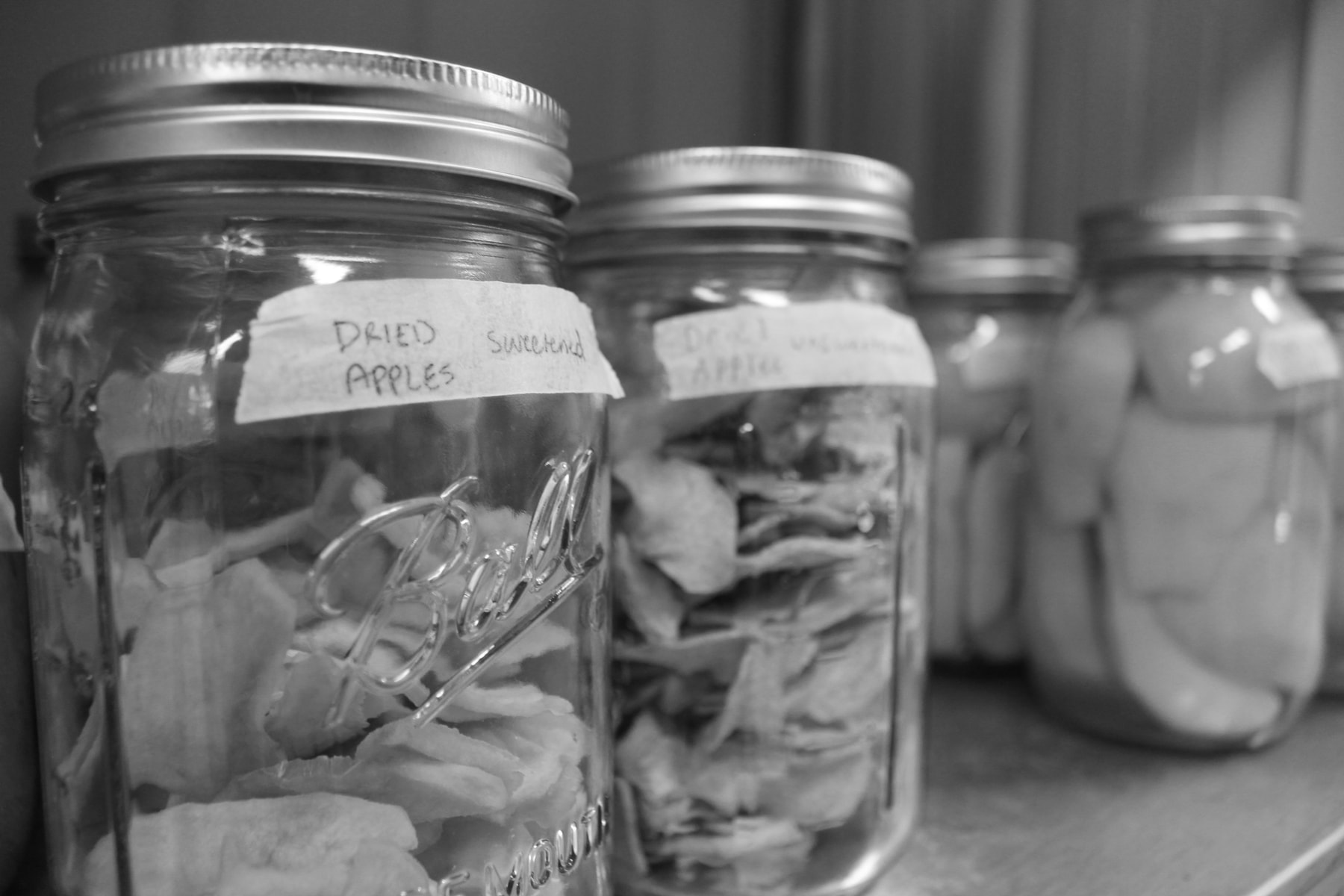 Photo of preserved dried apples