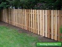 Wood Fences, Wooden Fencing | Alternating Board ...