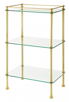 rectangle bathroom accessory stand