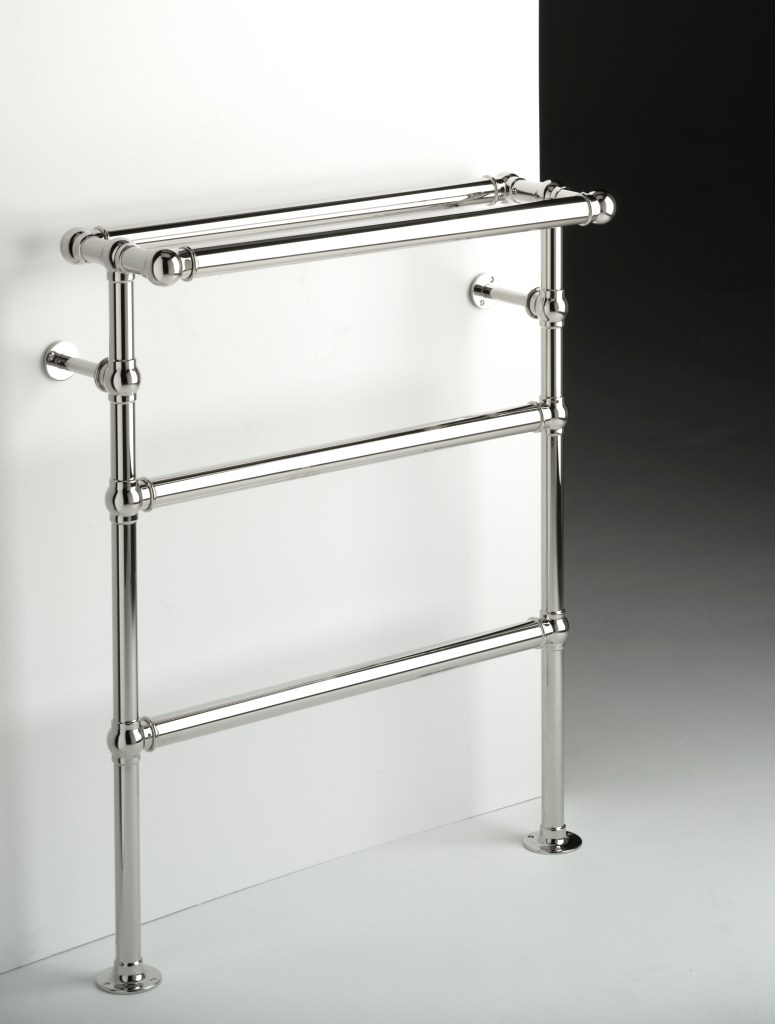 chatsworth wall and floor mounted towel warmer