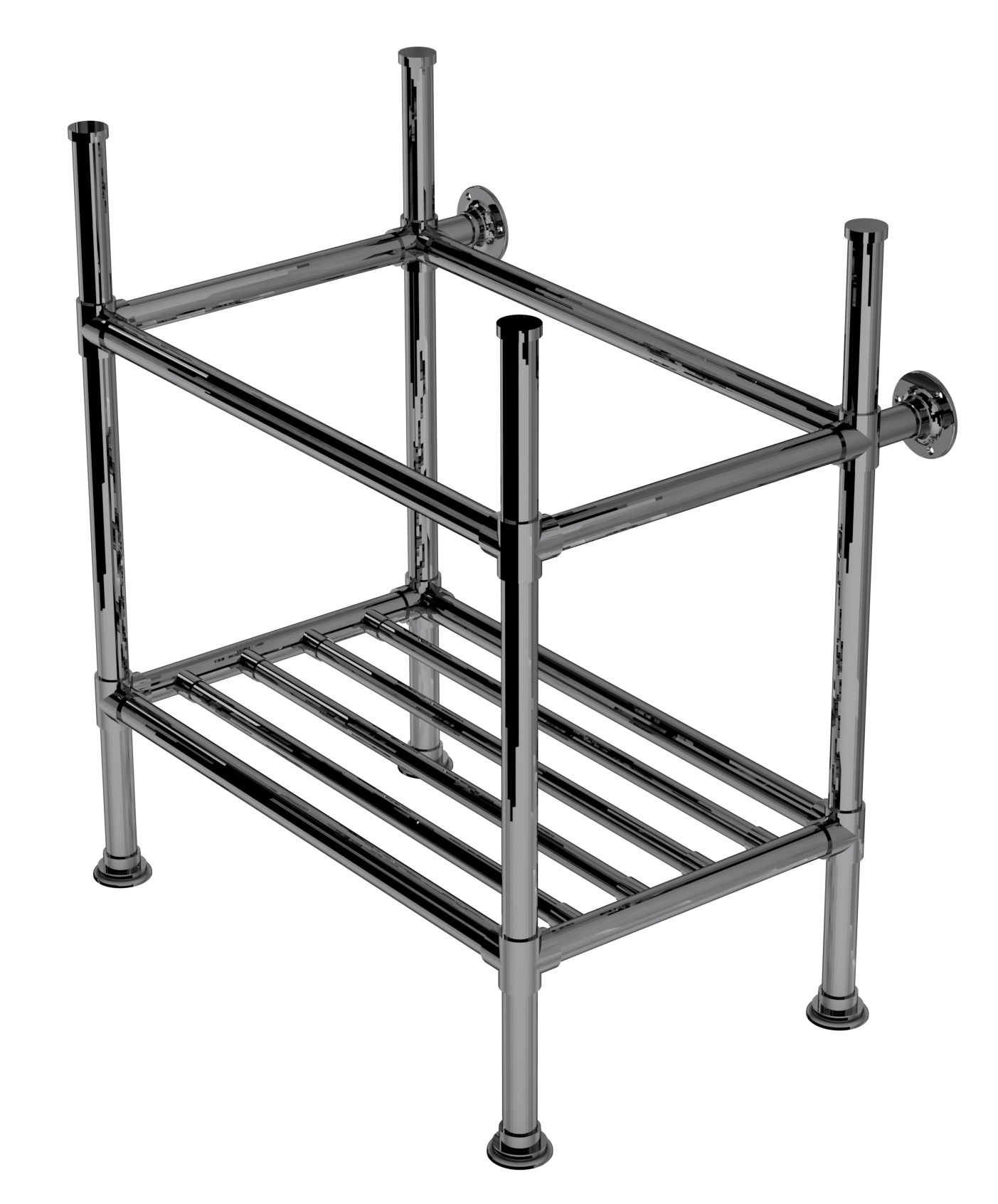 artisan four leg washstand with rack