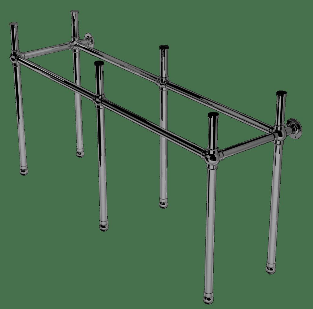 flair six leg basin stand