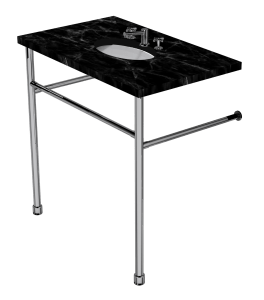 contemporary two leg washstand