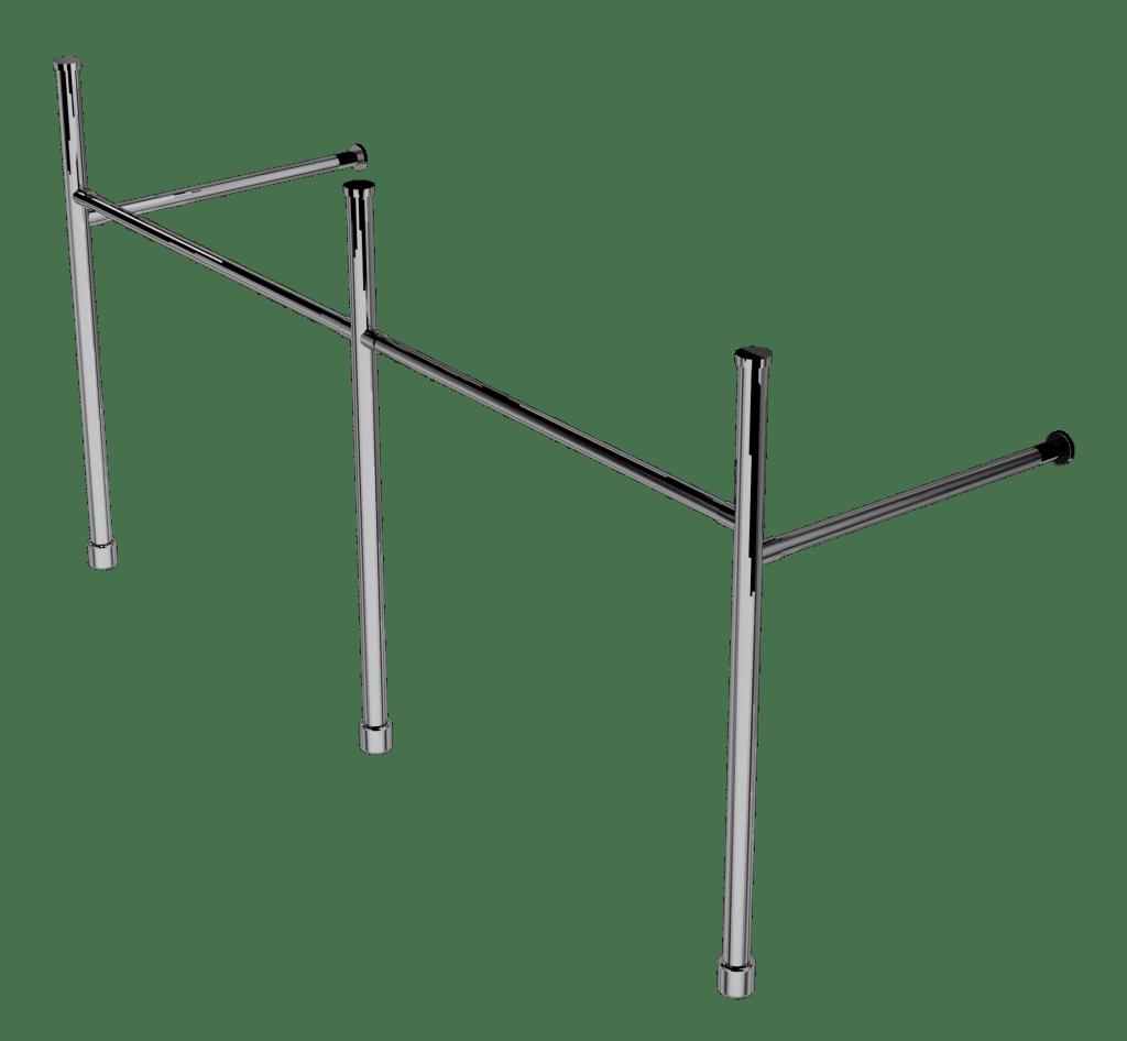 contemporary three leg basin stand