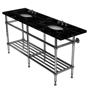 Classic Six Leg Washstand With Rack