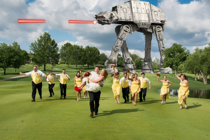 The Bridal Party Strikes Back!