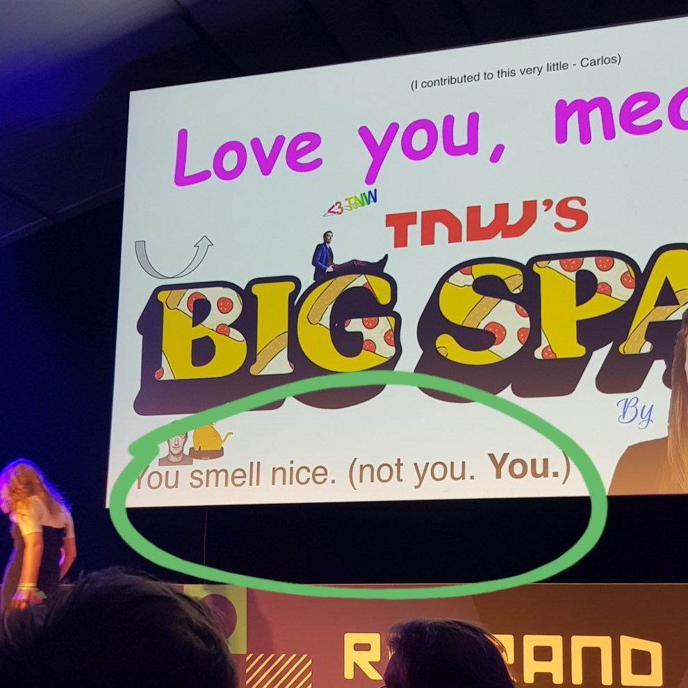 This was my contribution to The Next Web Conference