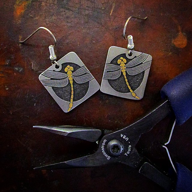 Titanium_Gold_Dragonfly_Earrings_5