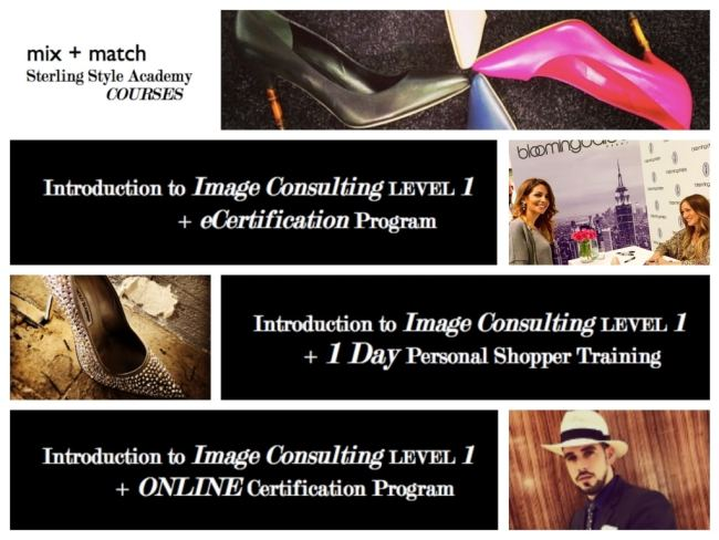Mix + Match Introduction to Image Consulting Level 1