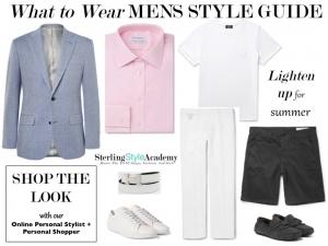 Men's What to Wear Summer 2016 | Online Personal Shopper