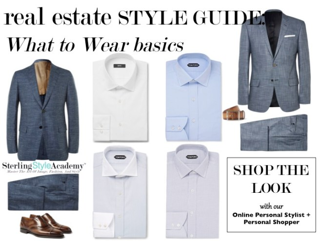 Real Estate Style Guide | What to Wear Basic | Sterling Style Academy