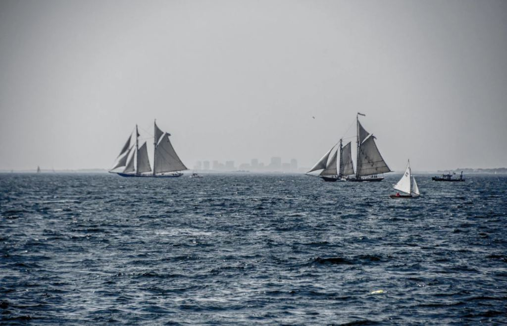 This Is How To Draw A Simple Schooner