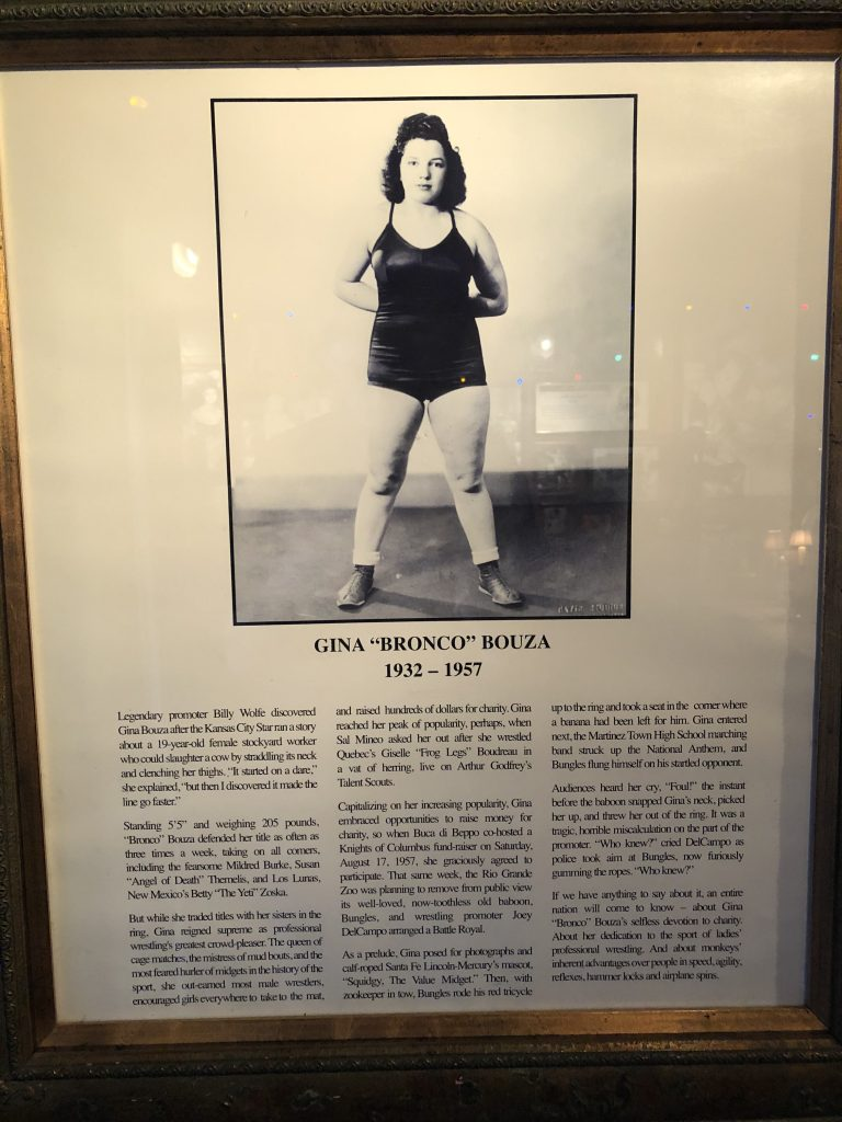 "The Tragedy Of Gina ""Bronco"" Bouza (1932-1957)"