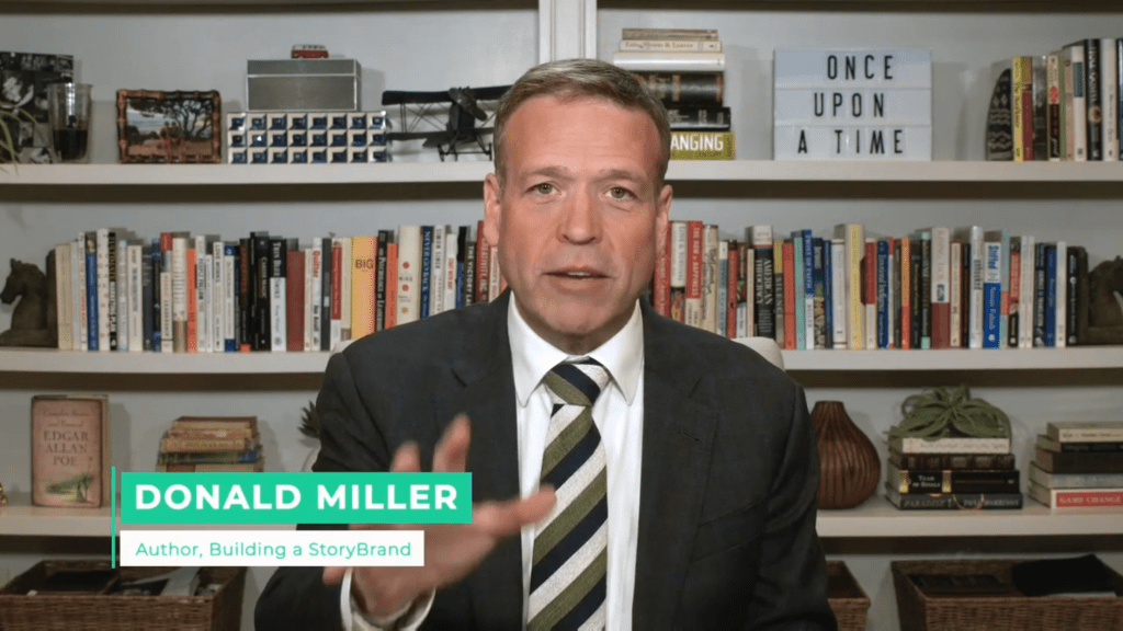Donald Miller On How To Get Rich