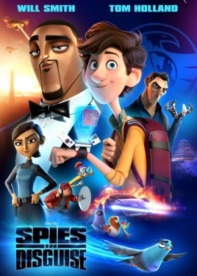Spies In Disguise, The Movie