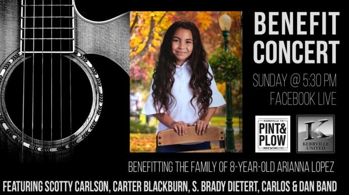 Arianna Lopez Benefit Concert