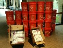 Fifty Cleaning Kits Assembled and Delivered for UMCOR Hurricane Relief