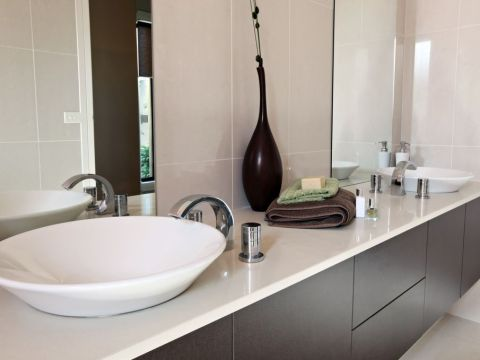 Bathroom Remodeling in Atlanta, GA with Ledges, Shelves, and Niches