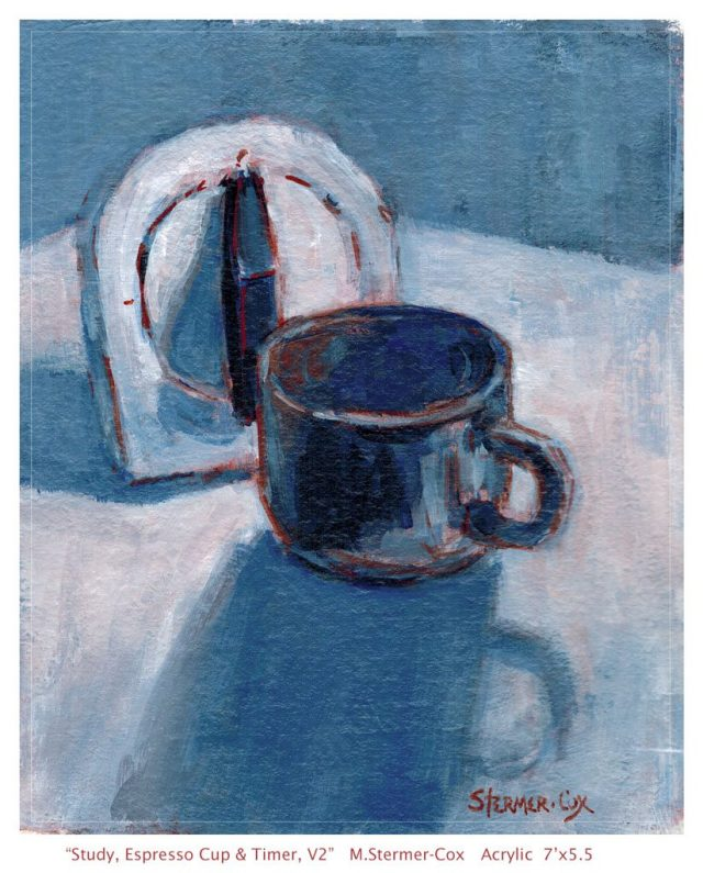Espresso and Time, Still Life Study