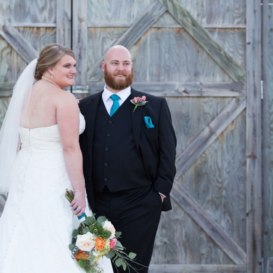 old barn doors, wedding, teal, black, turquoise, bayfield, wi