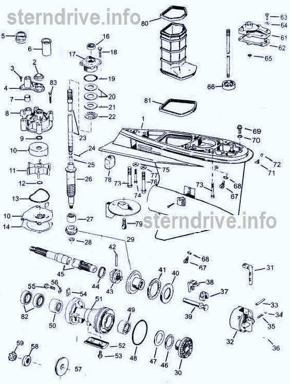 Johnson/Evinrude parts V4 60 degree 1995-2005