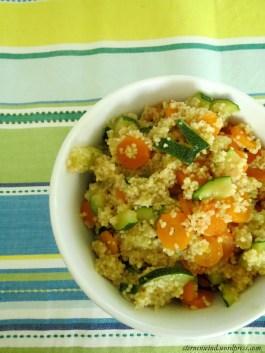 Zucchini-Karotten-Couscous