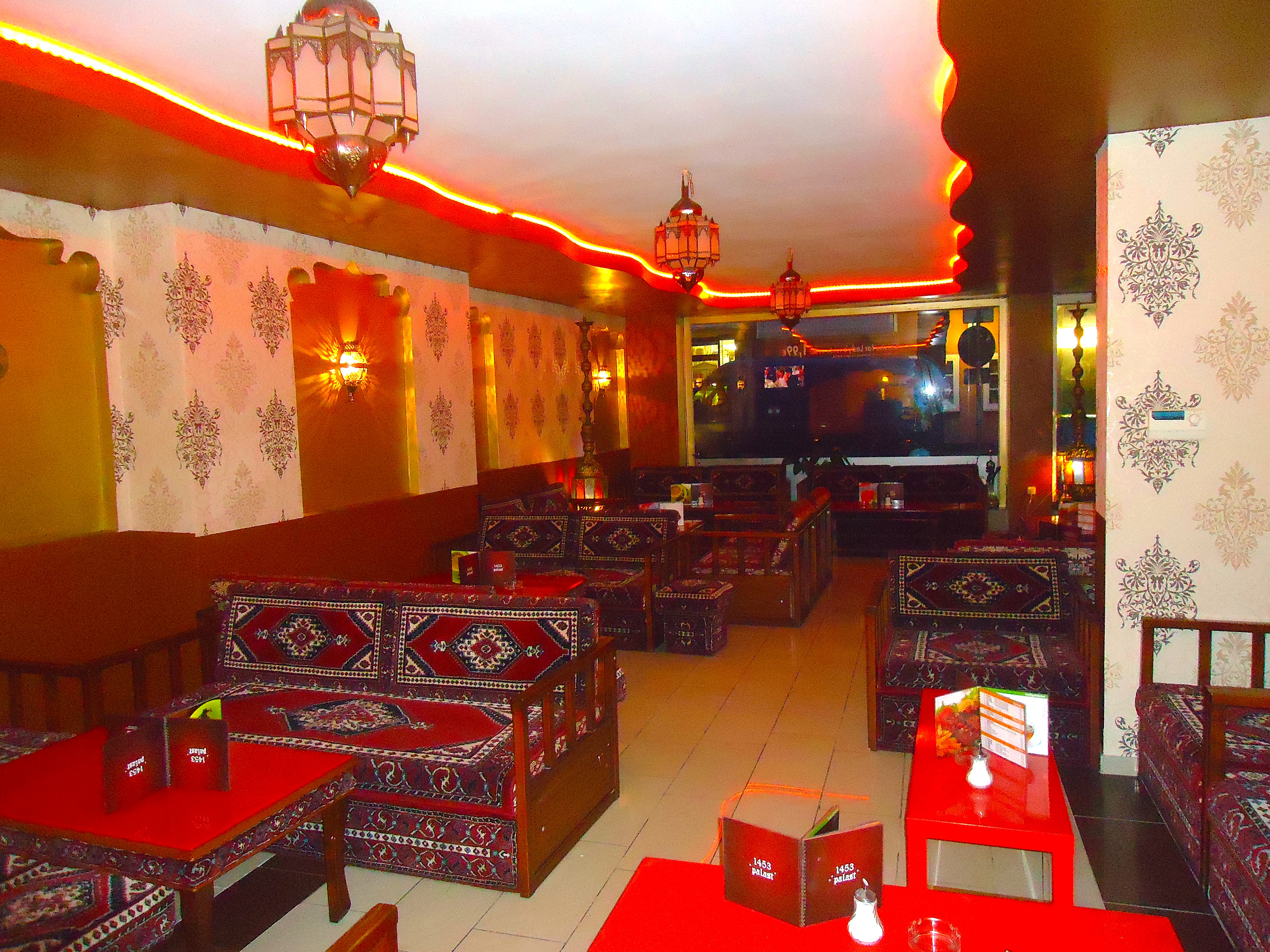 Shisha Bar  Cocktail LoungeCafOrientale Restaurant