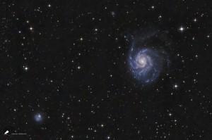 Eine Galaxie - M101