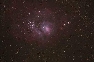 Lagunennebel Messier 8 oder NGC 6523