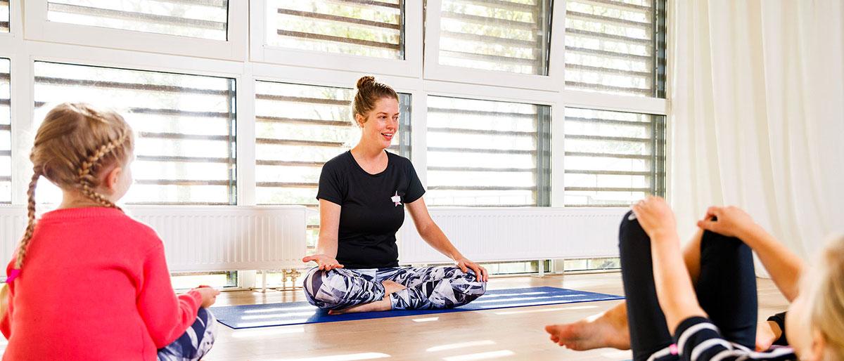 Permalink to: Kinderyoga, hatha yoga en peuterdans lessen volgen op YouTube