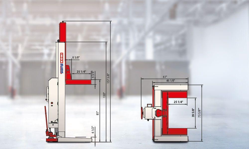 Mobile Column Lifts  StertilKoni USA