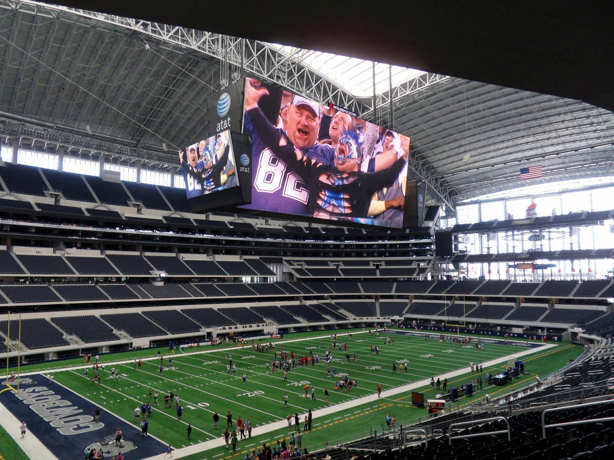 Going To Jerryworld A Tour Of Cowboys Stadium — Steve