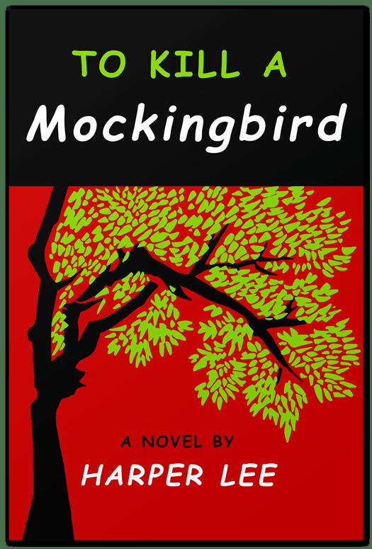 Image result for kill a mockingbird book cover