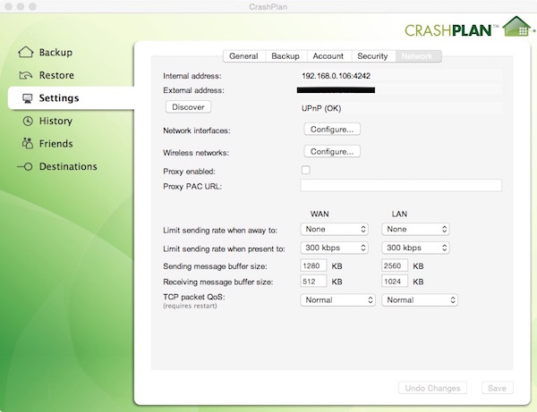 Crashplan copy