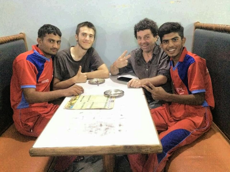 Manak, Jack, me (obviously) & Mahendra