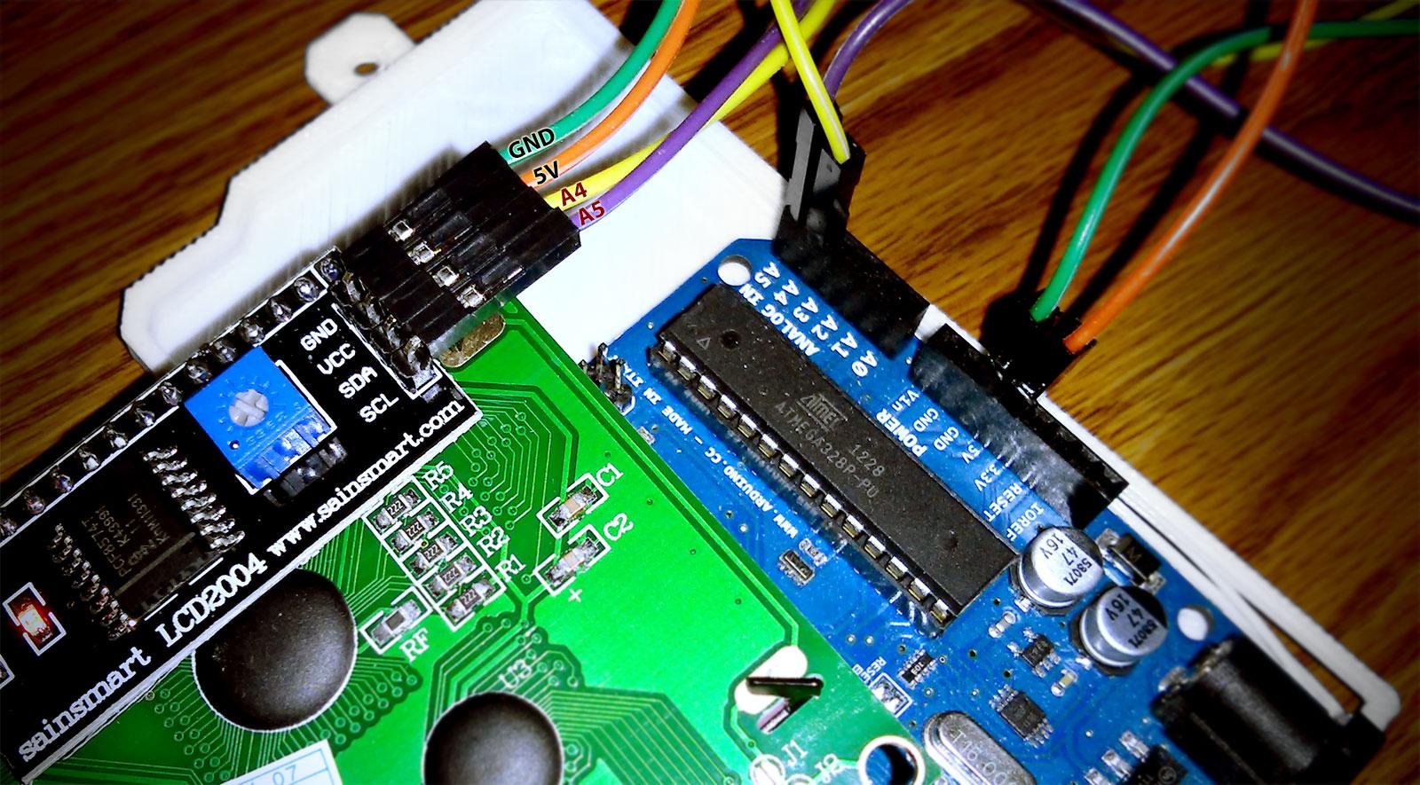pin 7 arduino detailed diagram of the ear 43 sainsmart lcd2004 serial 164 lcd screen  steve
