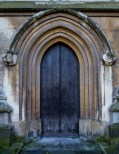 Not the Main Door to Westminster Abbey