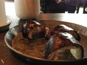 Crispy Pork and black currant