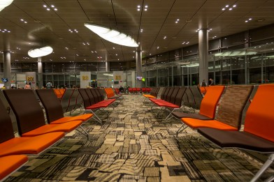 The chosen image - Night Owl at the nearly empty B3 lounge