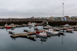 The small harbour in Keflavik