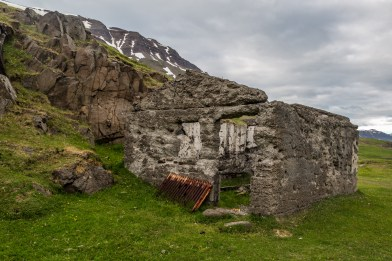 And old home at Seydisfjordur