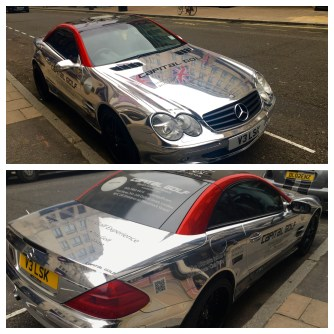Chrome Mercedes