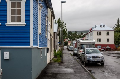 Our home in Akureyri
