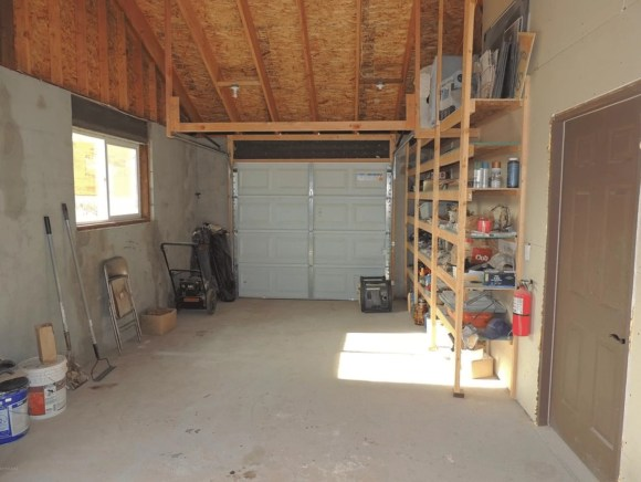 The garage as we bought the house