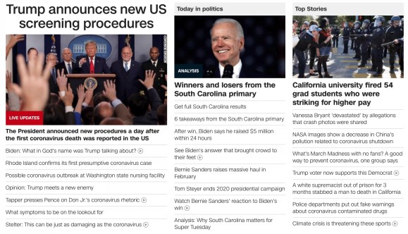 The 24-hour news cycle at CNN