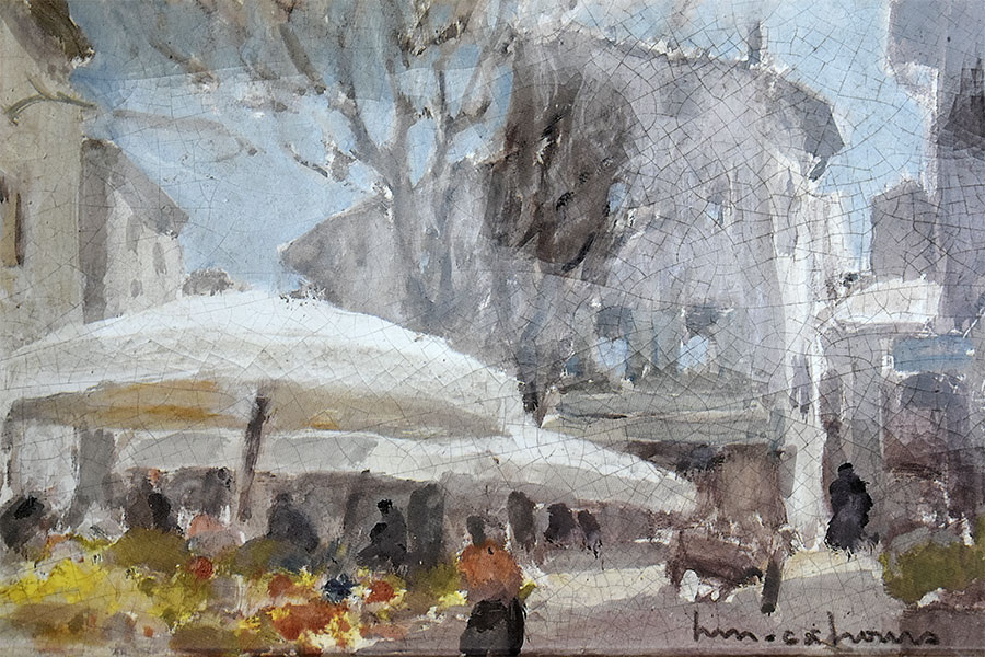 Henri-Maurice Cahours - Place Surian