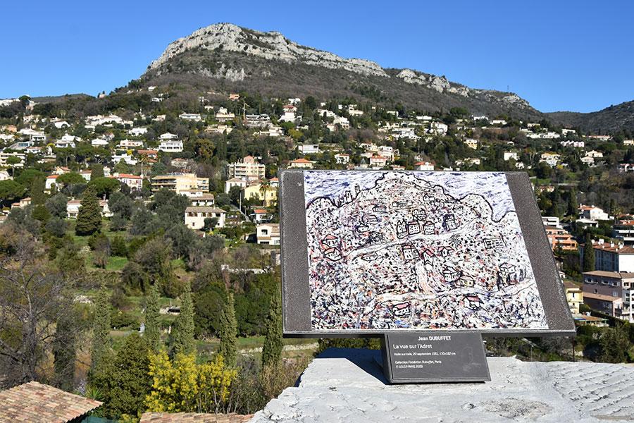 Jean Dubuffet - La vue sur l'Adret
